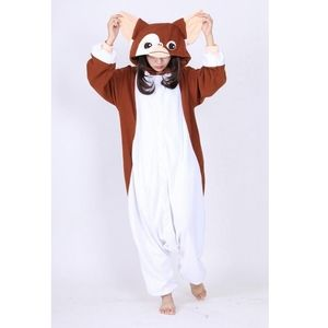 Gremlins Gizmo Hooded Button Down Onsie
